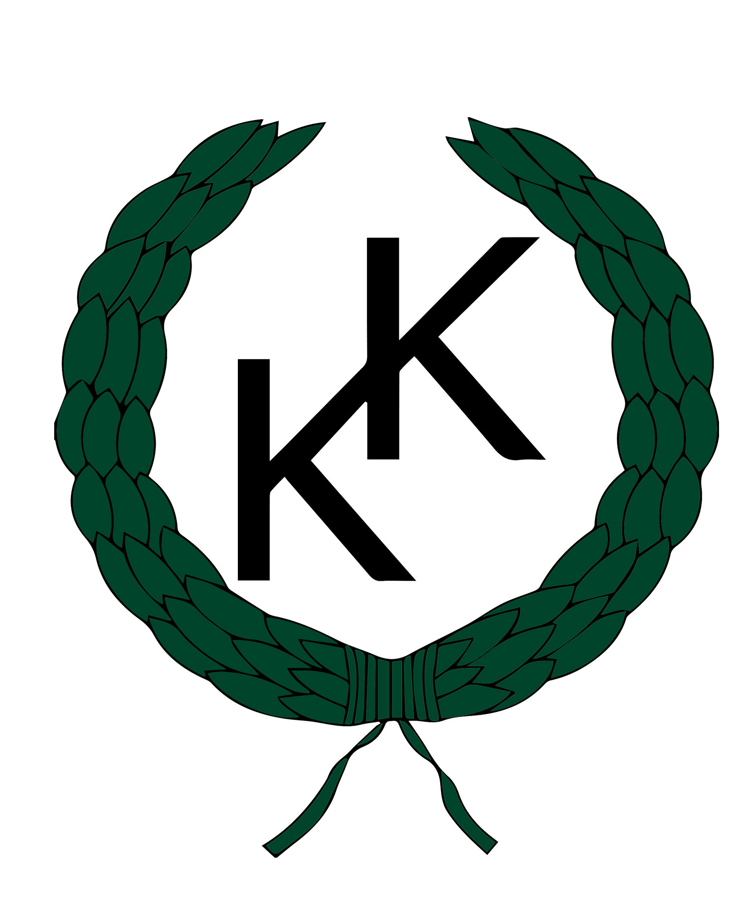 KK-logotyp liten grön